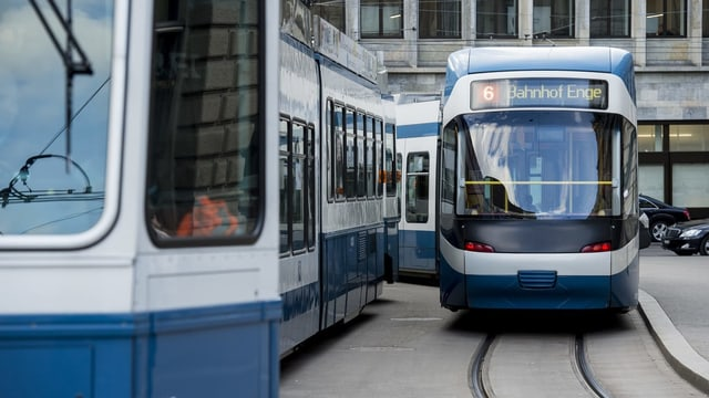 Trams a Turitg.