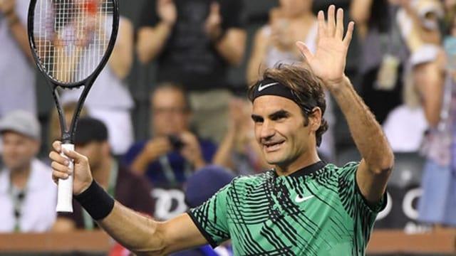 Roger Federer ha gudagnà cunter il Franzos Stephane Robert.
