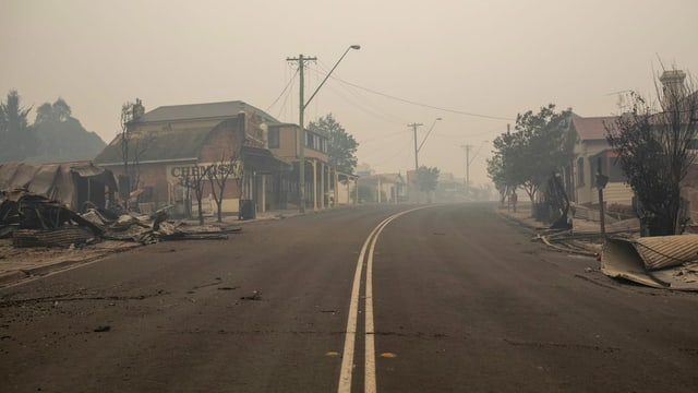 Apokalyptisch: Cobargo am 1. Januar 2020.