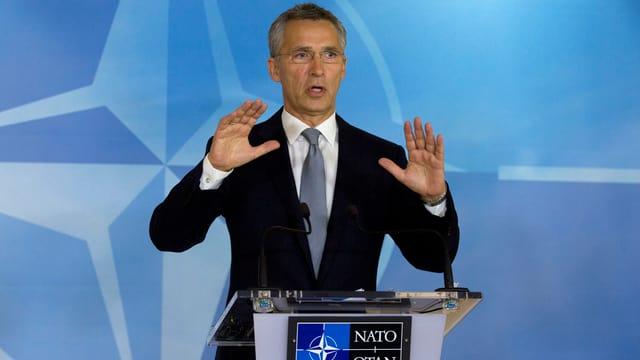 Il directur da la NATO Jens Stoltenberg.