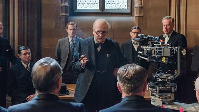 Gary Oldmans Leistung als Winston Churchill in «Darkest Hour» ist oscarverdächtig.