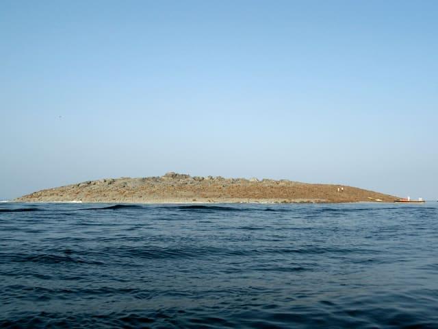 Eine Insel im Tageslicht