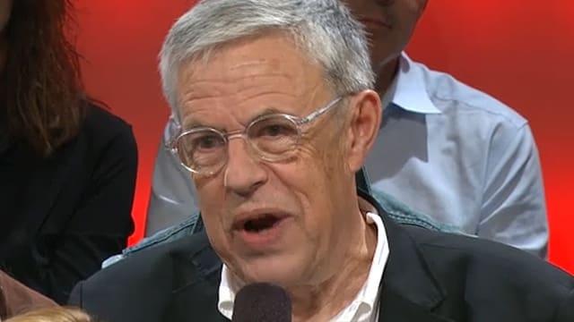 Bruno Lezzi in der Sendung «Arena» 2014