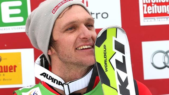 Skicrosser Mike Schmid.