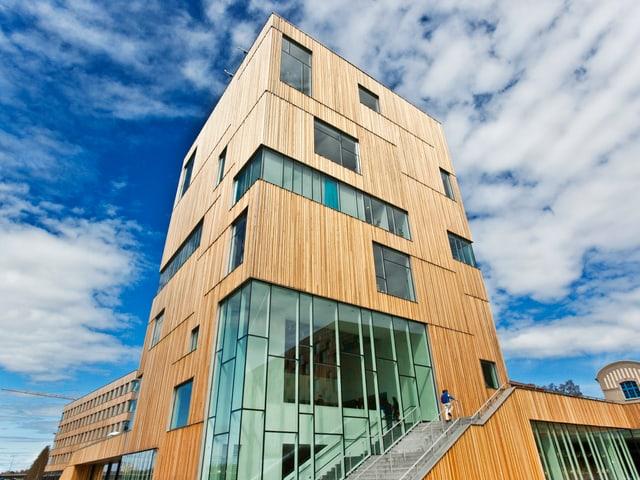 Das kantige «Bildmuseet» des dänischen Architekten Henning Larsen.