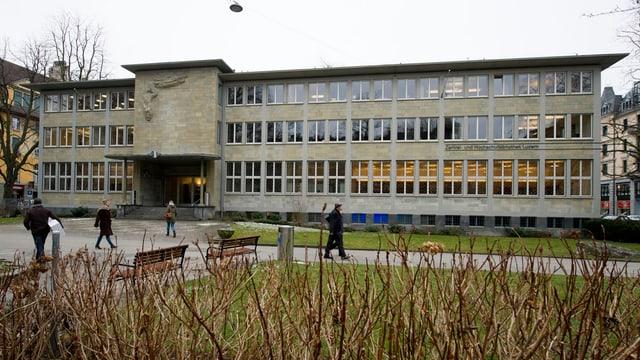 Das Haus der Zentral- und Hochschulbibliothek