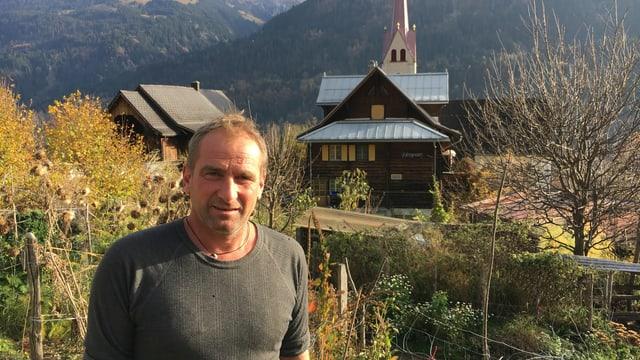 Christian Weber, davostiers l'hotel Hospezi
