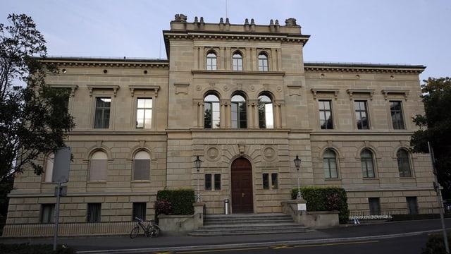 Das Regierungsgebäude im Kanton Zug.