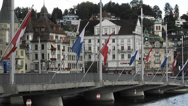 Die Luzerner Seebrücke