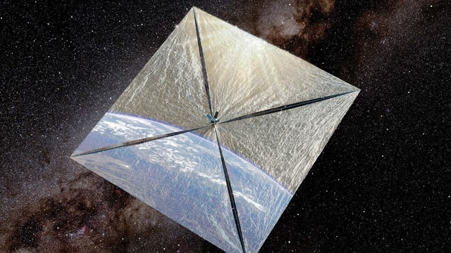 Illustration des LightSail-1.