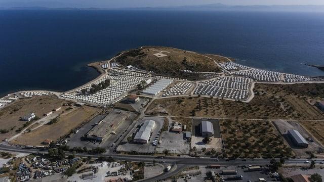 Auffanglaber auf Lesbos