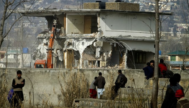 Osama Bin Ladens Haus in Pakistan