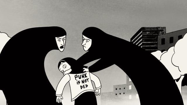 Video «Persepolis – Der Animationsfilm von Marjane Satrapi» abspielen