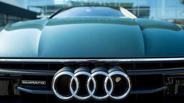 Audi Modell mit den vier Ringen