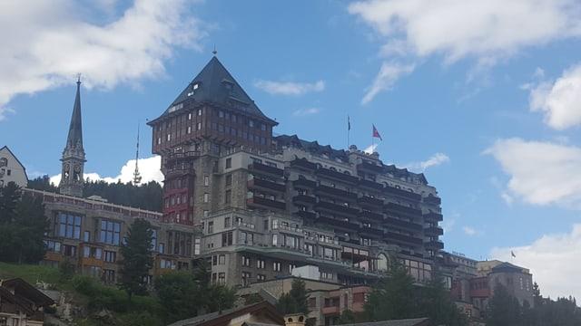 L'hotel Badrutt's Palace dal 2016.