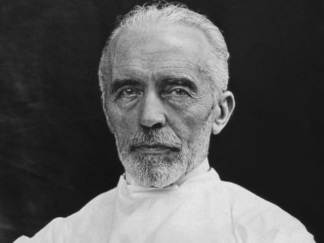 Theodor Kocher im Porträt.