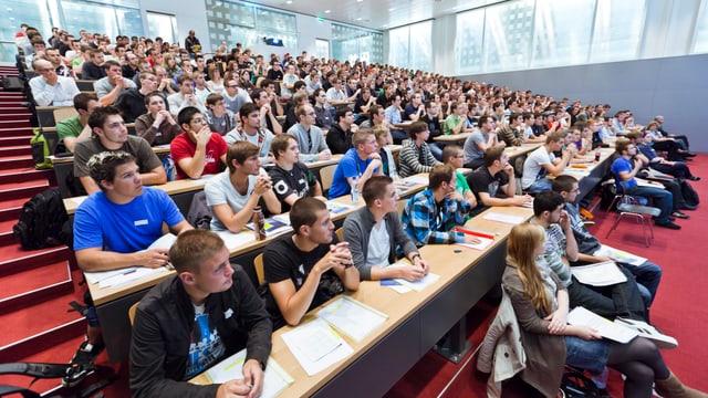 Seit der Gründung 2006 hatte die Pädagogische Hochschule in Brugg noch nie so viele Studenten und Studentinnen.