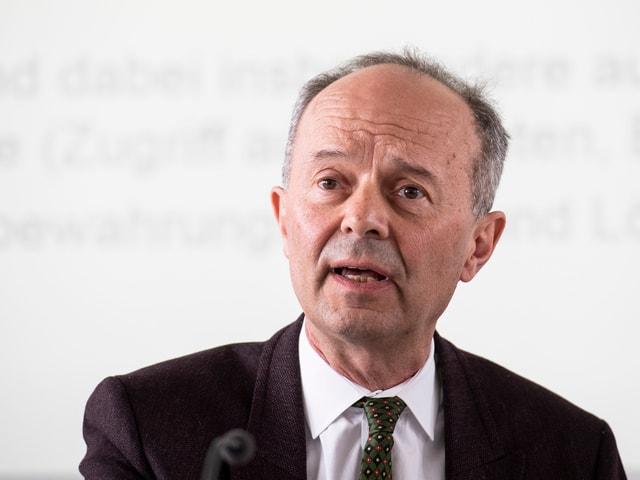 Portrait von Zürichs Stadtrat Richard Wolff