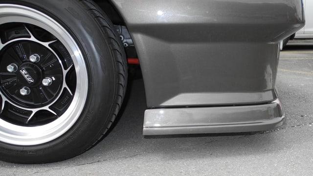 Bestraft wurden Autos mit nicht gestatteten Felgen, oder Auspuffanlagen.