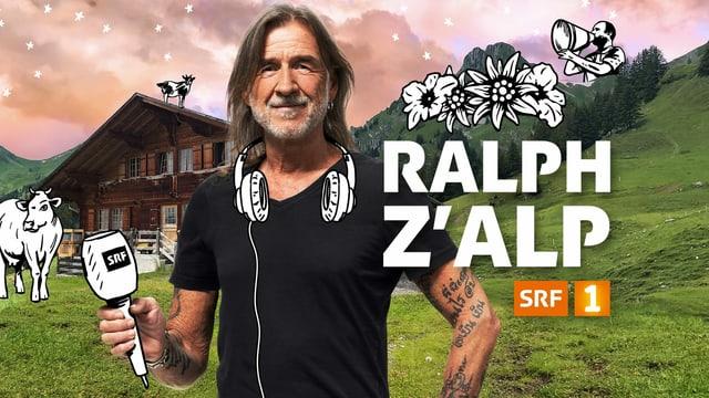 Radio SRF 1-Moderator Ralph Wicki.