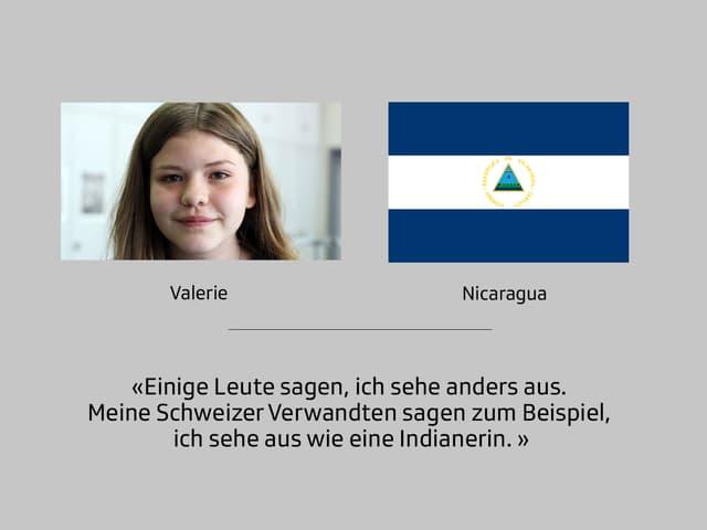 Valerie ist vor 13 Jahren mit ihrer Familie in die Schweiz gezogen. Seither lebt sie in Bern.