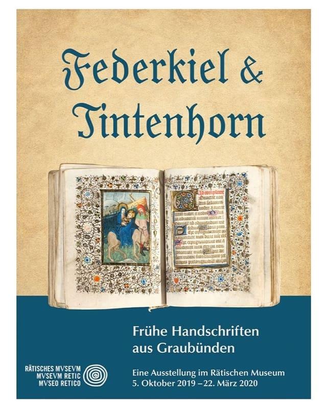 L'exposiziun «Federkiel und Tintenhorn» sa fatschenta cun documents scrits a maun