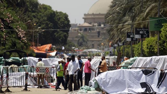 Situation in Kairo.