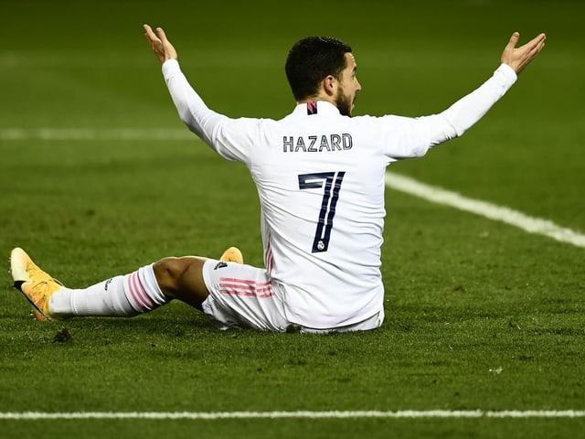 Real Madrids Eden Hazard.