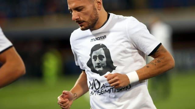 Ciro Immobile von Lazio Rom.