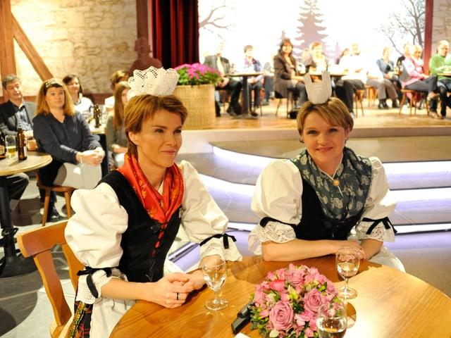 Silvia Rymann & Annemarie Berchtold-Rymann.