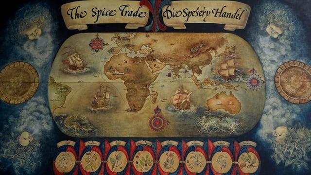 Der Portugiese Vasco da Gama segelte 1497 als erster Europäer um den südlichsten Punkt Afrikas und erreichte Indien.