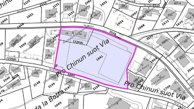 Plan da quartier