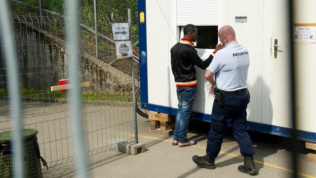 Securitas in Asylunterkunft