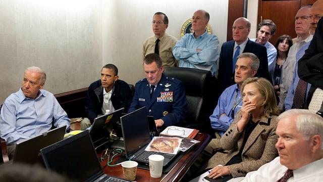 Obama mit seinem Sicherheitsrat
