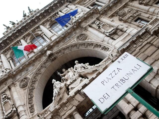 Das Kassationsgericht in Rom.