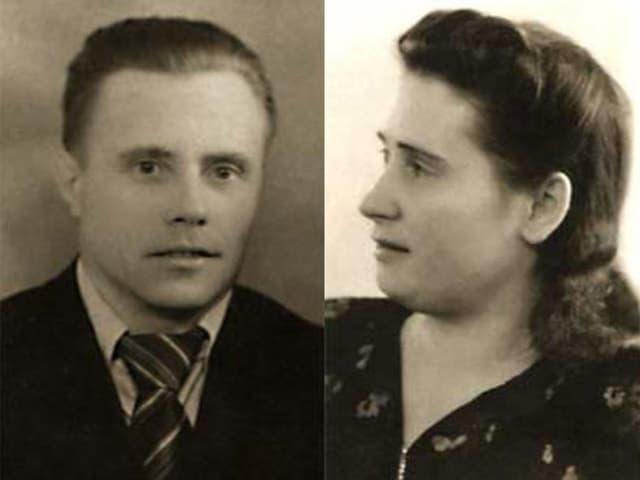 Familienbild der beiden Eltern.