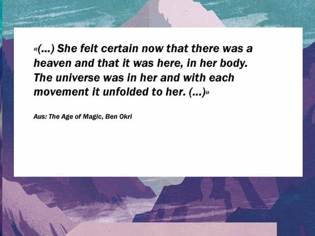 Ausschnitt aus dem Buch The Age of Magic, Ben Okri