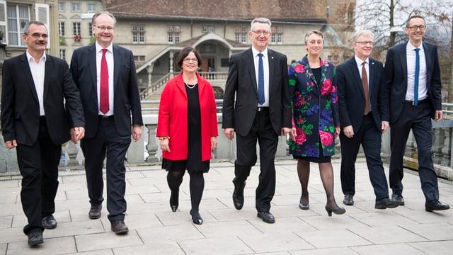 sieben Staatsräte Freiburg