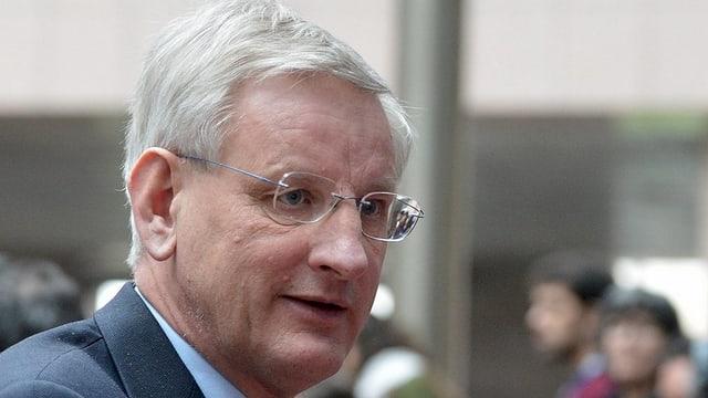 Der schwedische Aussenminister Carl Bildt.