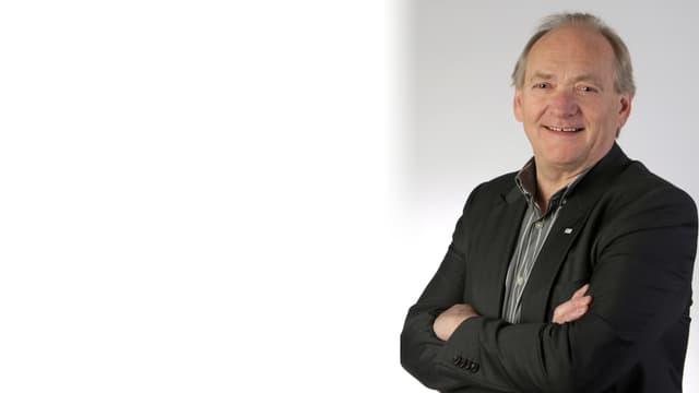 Kurt Steck ch'è reelegì sco president communal da Claustra-Serneus.