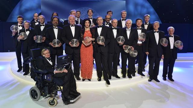 Gruppenfoto der Preisträger