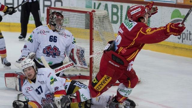 Giugader da hockey marca gol decisiv.