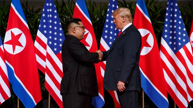 Kim Jong-un und Donald Trump