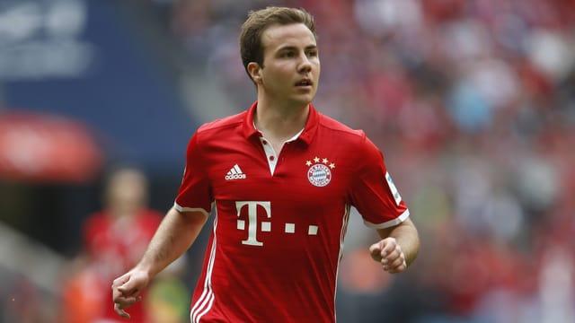 Mario Götze im Bayern-Trikot