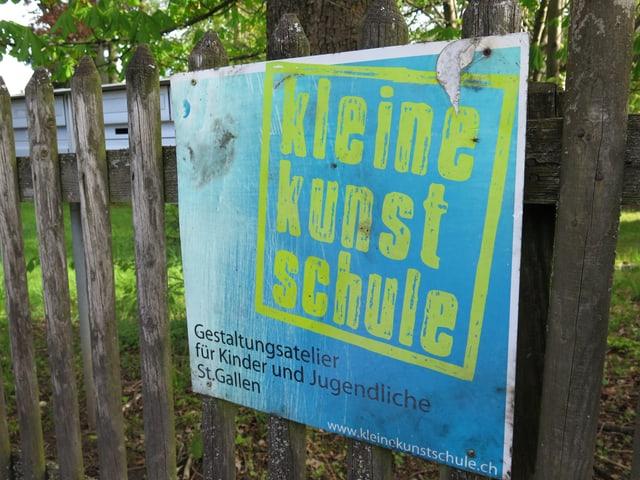Plakat Kleine Kunstschule