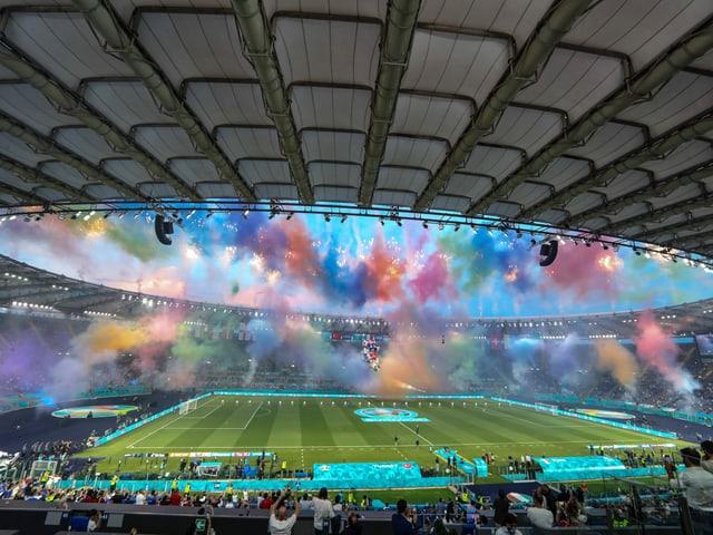Seit dem 11. Juni ist das europäische Fussballfest im Gang.