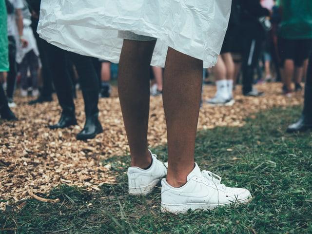 saubere sneakers