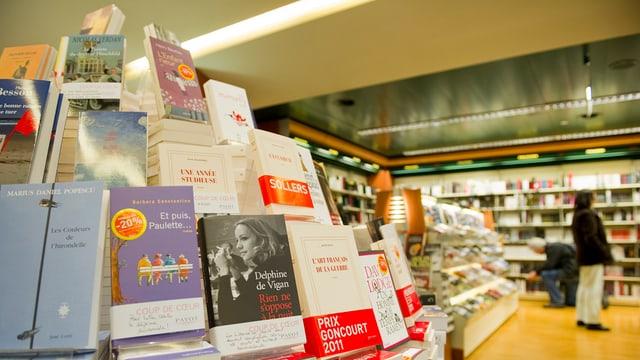 Eine Buchhandlung.