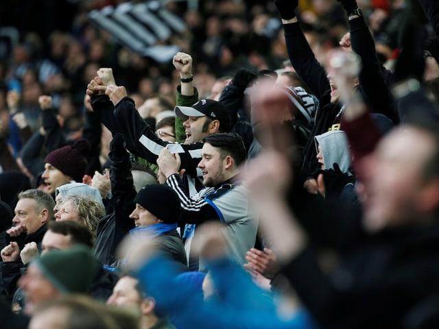 Fans von Newcastle