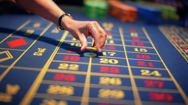 Spiel in einem Schweizer Casino